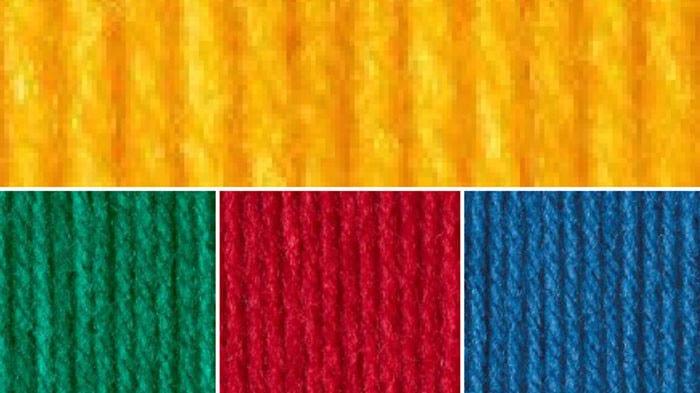 Primary Yarn Color Combination
