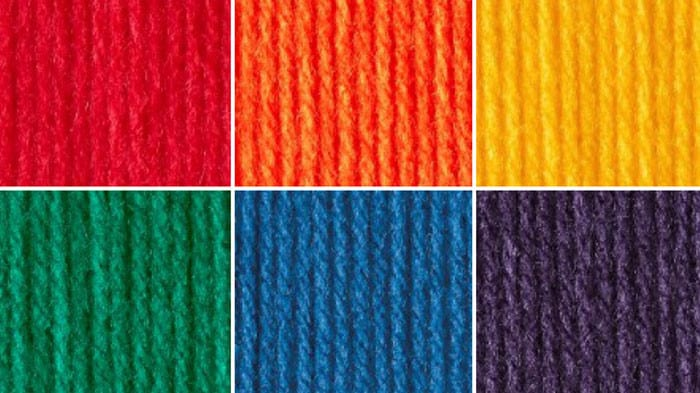 Rainbow Yarn Color Combination