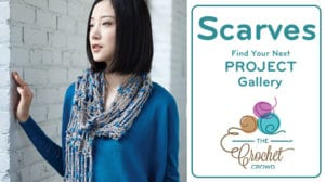 Crochet Scarves Project Gallery