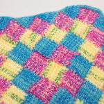 Tunisian Entrelac Border + Tutorial