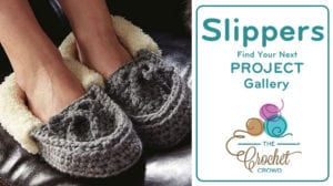 Crochet Slippers Project Gallery