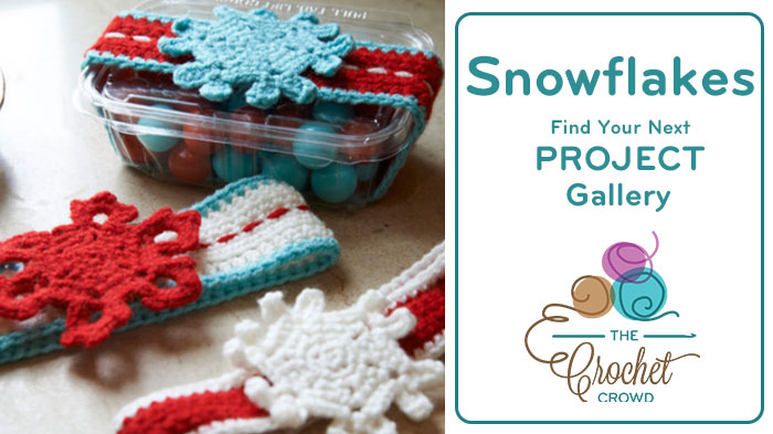 Crochet Snowflakes Project Gallery