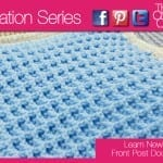 Crochet Waffle Square + Tutorial