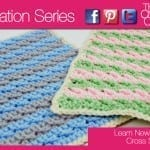 Crochet Cross Stitch Square + Tutorial