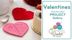 Crochet Valentines Project Gallery