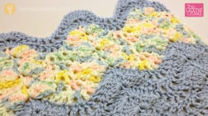 Crochet Antigua Throw Sample