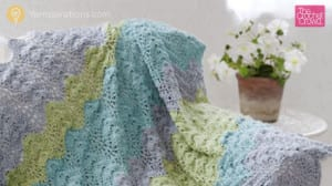 Antigua Crochet Throw
