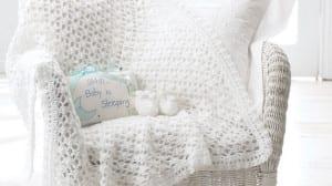 Vintage Baby Crochet Afghan