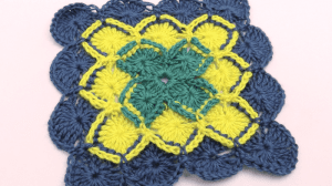 Bavarian Crochet Square