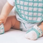 Bib and Booties Set