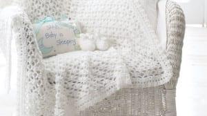 Blanket and Booties Crochet Set