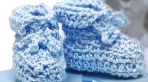 Baby Shower Crochet Booties