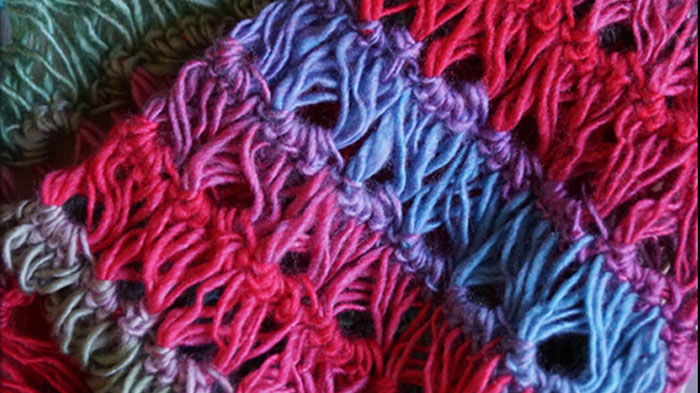 Broomstick Lace Stitch The Crochet Crowd