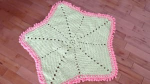 Baby Blanket Crochet Star