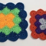 Catherine Wheel Stitch Square