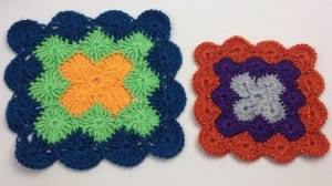 Crochet Catherine Wheel Stitch