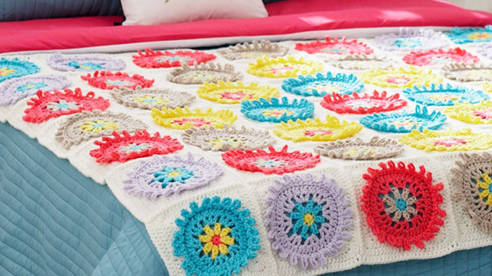 Crochet Colorful Afghan Pattern