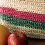Crochet Lunch Bag or Mini Bag