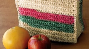 Crochet Lunch Bag