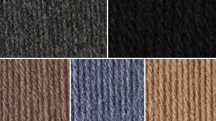 Dark Neutral Color Yarn Combination