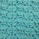 Dove Tail Crochet Stitch