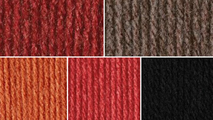 Halloween Color Yarn Combination