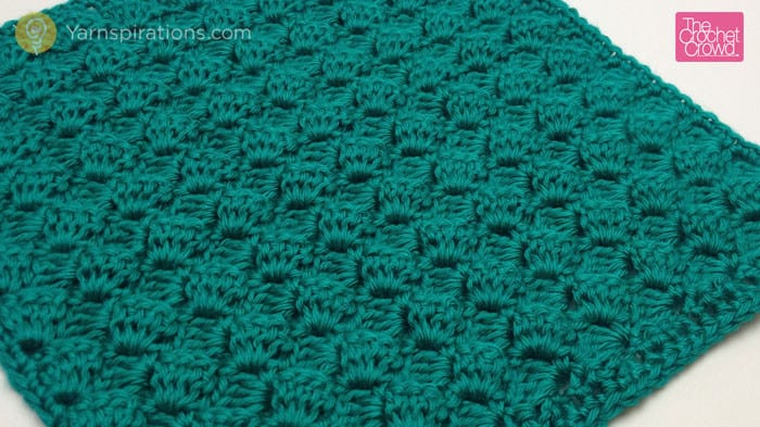 Side Lean Crochet Stitch