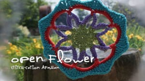 Stitch-cation Open Flower Motif