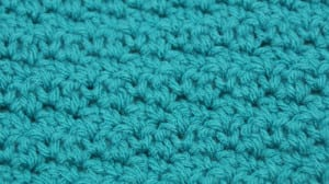 Crinkle Crochet Stitch