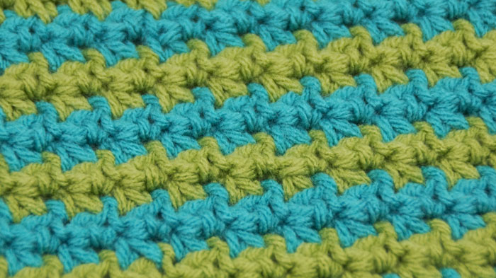 Single Compress Stitch - The Crochet Crowd