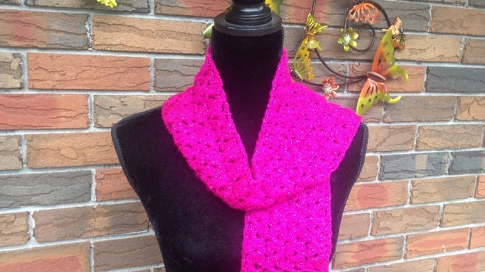Super Quick and Easy Scarf