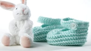 Tiny Baby Crochet Booties