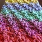 Crochet Woven Scarf
