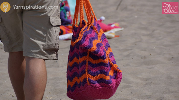 Crochet Beach Bag : Crochet Beach Bag - The Crochet Crowd