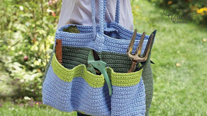 Crochet Garden Tote