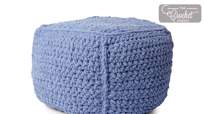 Amazing Crochet Poufs Archives The Crochet Crowd Squirreltailoven Fun Painted Chair Ideas Images Squirreltailovenorg