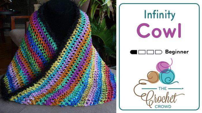 Crochet Infinity Cowl + Tutorial
