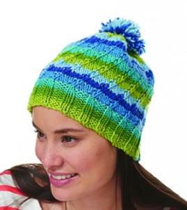 Bernat Super Value Stripes Hat