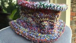 Tunisian Basket Weave Cowl Pattern