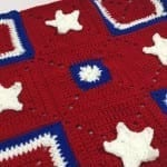 American Stars and Squares Crochet