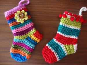 Miniature Christmas Sock