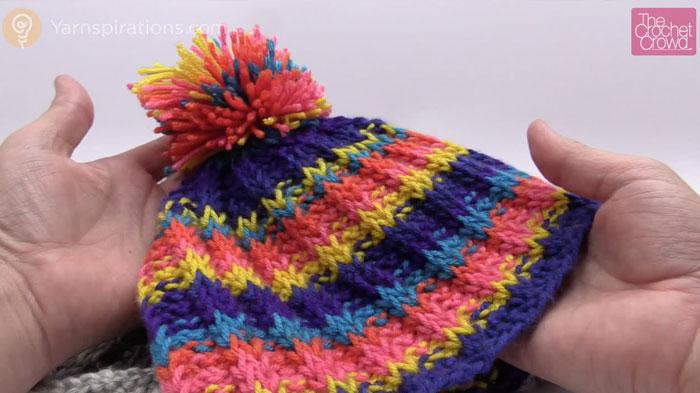 Tunisian Rib Stitch Hat Pattern + Tutorial