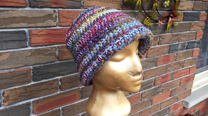Mikey's Wool Crochet Hat