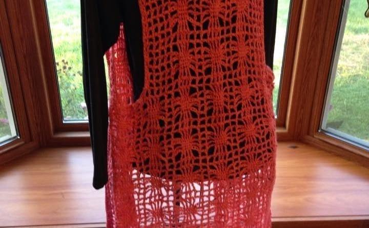 Crochet Vest Crocheted by Jeanne Stienhilber