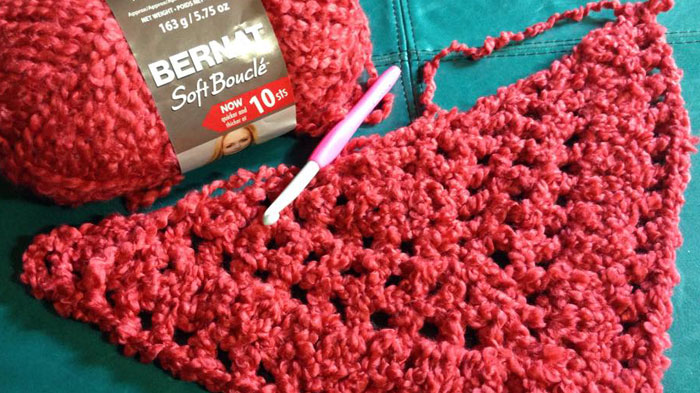 Boucle Yarn Crochet Ideas