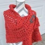 Crochet Boucle' Shawl