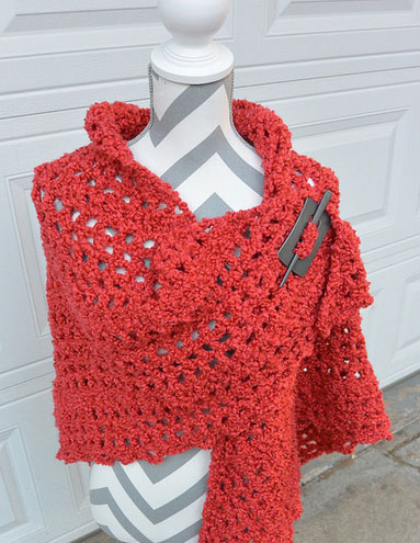 BERNAT BOUCLE CROCHET KNITTING PATTERN SOFT   KNITTING PATTERN