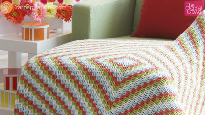 Crochet Cottage Throw