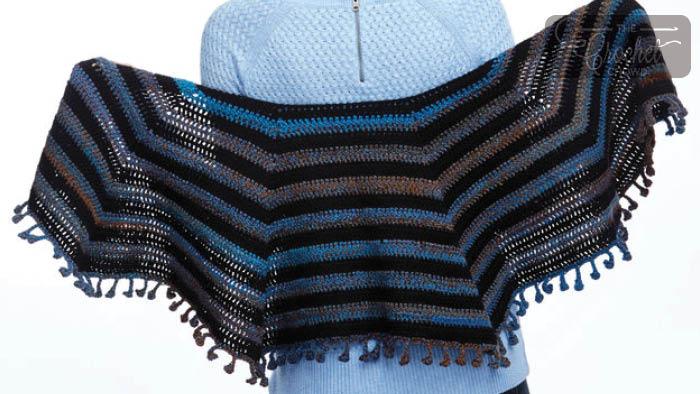 Cool Casual Shawl Pattern