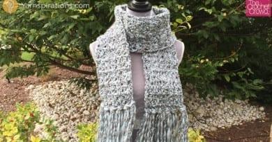 Crochet Icy Scarf